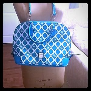 Dooney & Bourke Sanibel Coated Canvas Zip Satchel